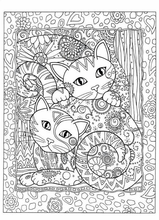 Pin von Teresa Brewer auf Adult coloring | Pinterest | Ausmalbilder ...