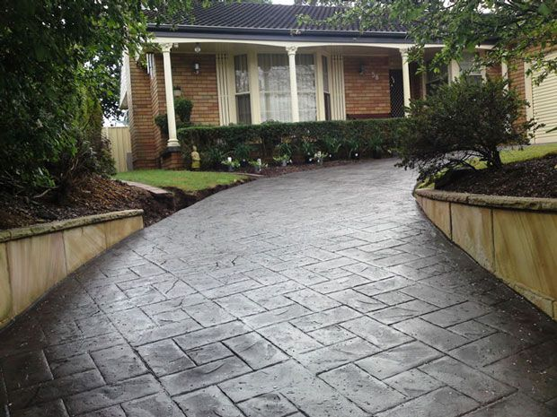 check out our concrete driveway photos to see how people are adding value to their home - Concrete Driveway Design Ideas