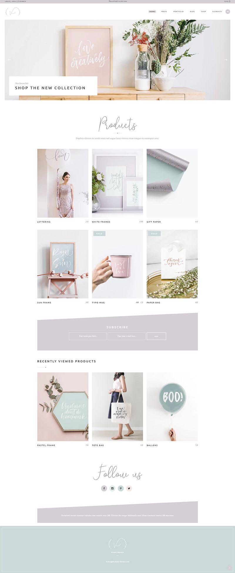 Shop Home | Mikado | Kanna - An Elegant Multi-concept