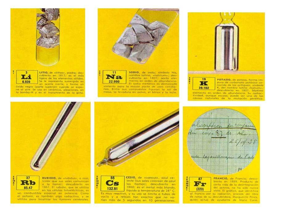 Metales alcalinos quimica pinterest metal alcalino y qumica metales alcalinos urtaz Image collections