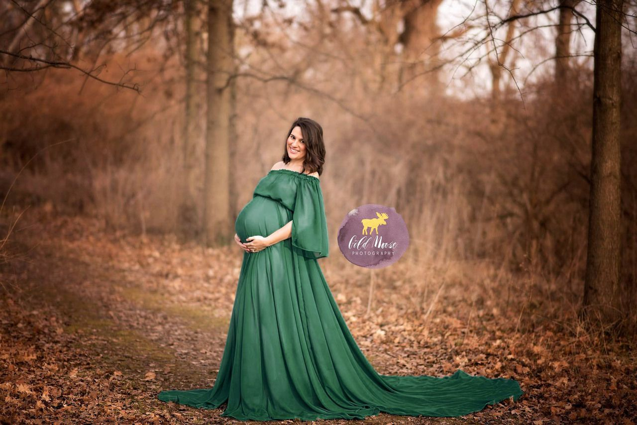 Adele boho maternity dress long train emerald green bell adele boho maternity dress long train emerald green bell sleeves silk fairies ombrellifo Image collections
