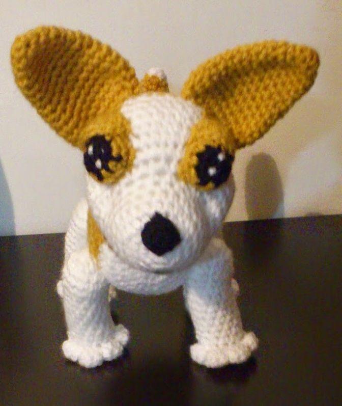 Perro Chihuahua Amigurumi - Patrón Gratis en Español aquí: http ...