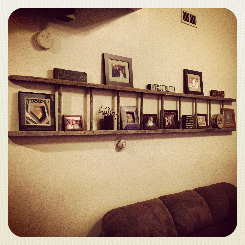 Wooden ladder | Home Ideas | Pinterest | Wooden ladder, Wooden ...
