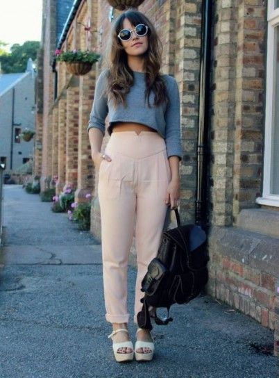 High waist for the daily look.