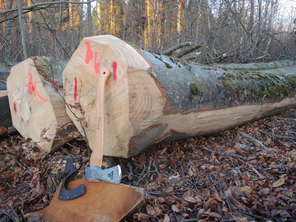 WERBUNG: Hultafors Jagdbeil Classic 0,85 kg -handgeschmiedet-