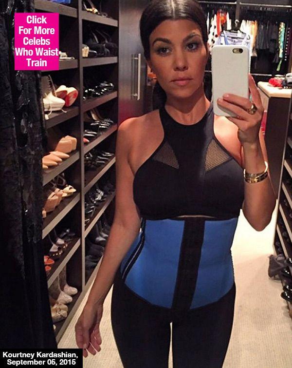 109c0a682e Kourtney Kardashian Shows Off Slim Figure In Waist Trainer 9 Months ...