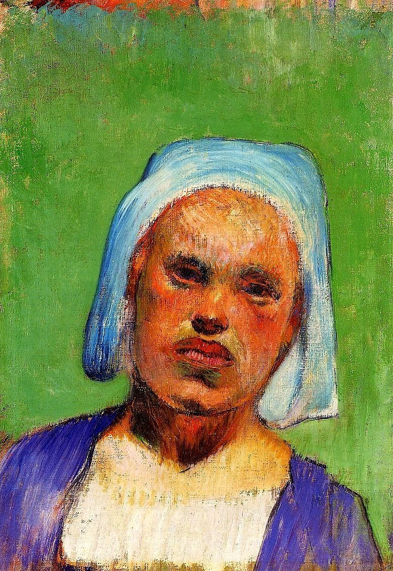 Paul Gauguin - Portrait of a Pont-Aven Woman