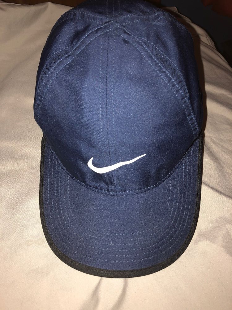 6d6b820b16aec5 Women's Nike Featherlight Dri-Fit Navy Hat Cap OSFM (One Size Fits Most)  #fashion #clothing #shoes #accessories #mensaccessories #hats (ebay link)
