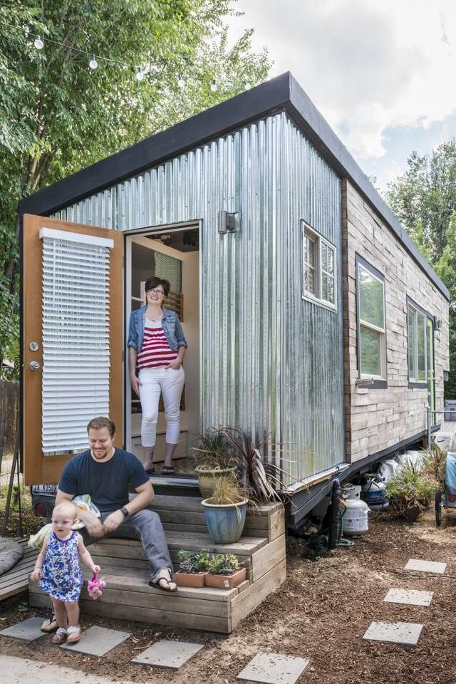 These parents find that the smaller the square footage, the better it is for her family of four.