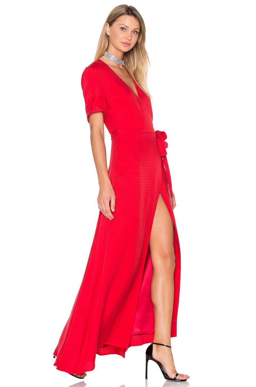 DREAM Blair Maxi Dress in Red