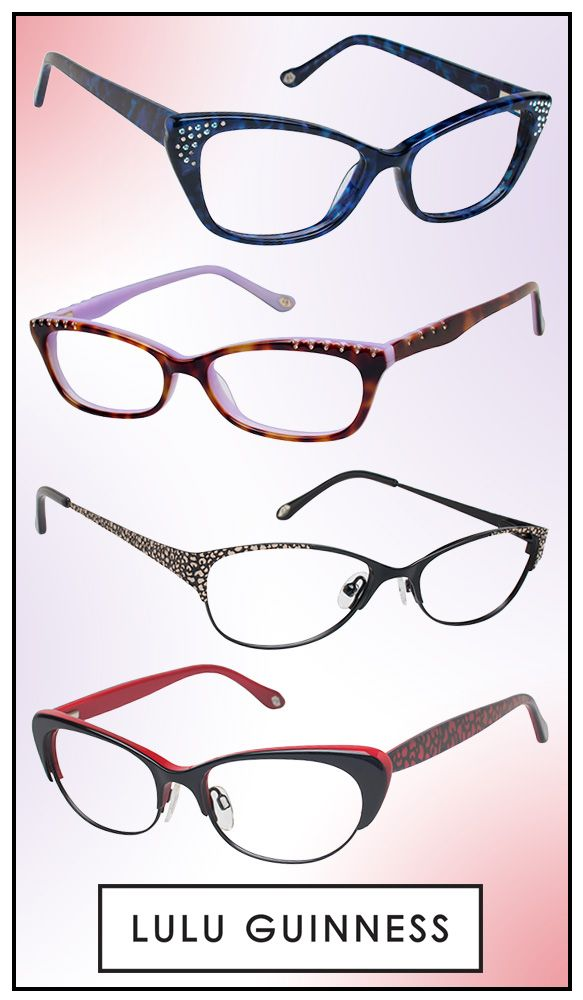 Embrace Subtle Glamour with Lulu Guinness Specs: http ...
