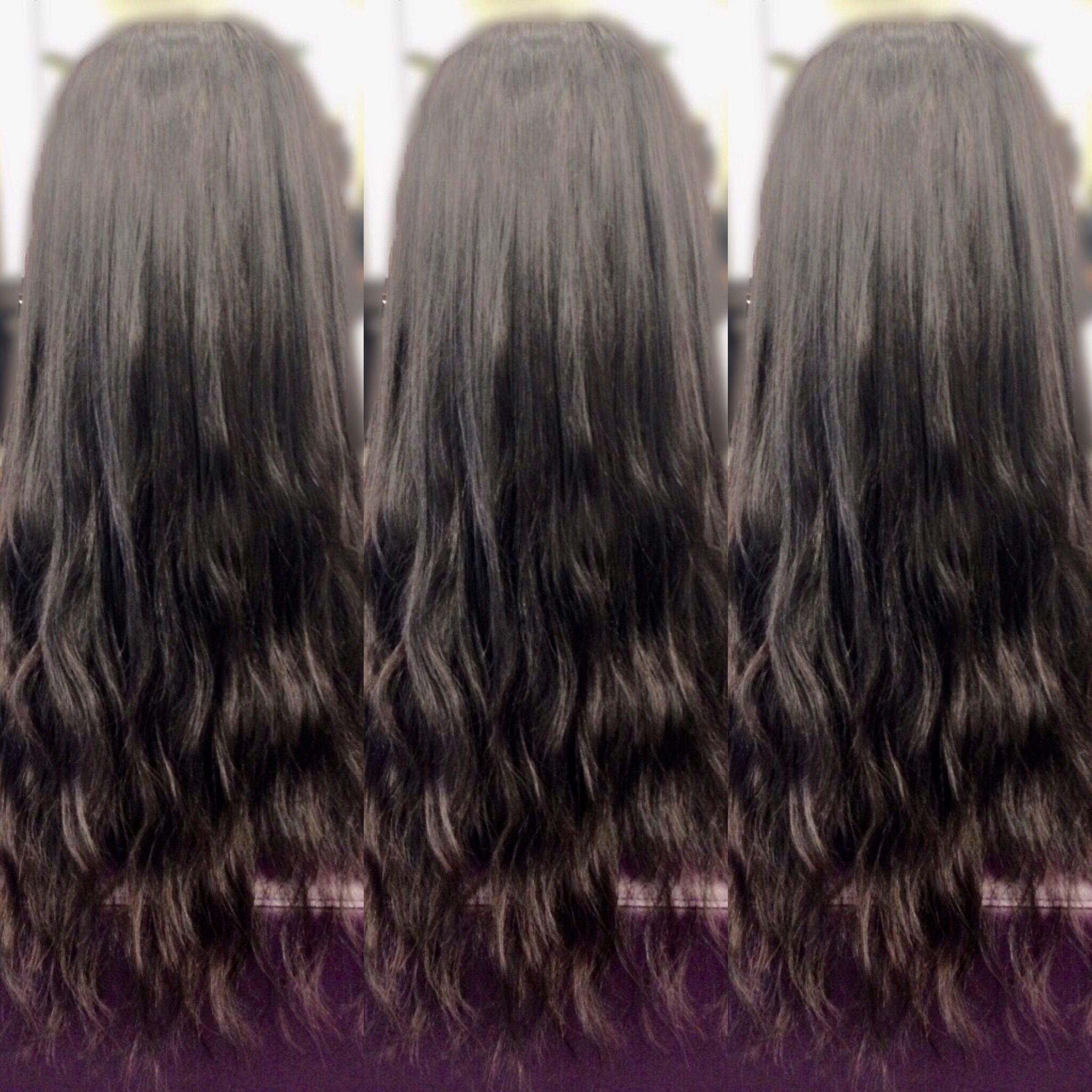 5 Rows Of 18 Bohyme Hair Extensions In Body Wave Dries Perfectly