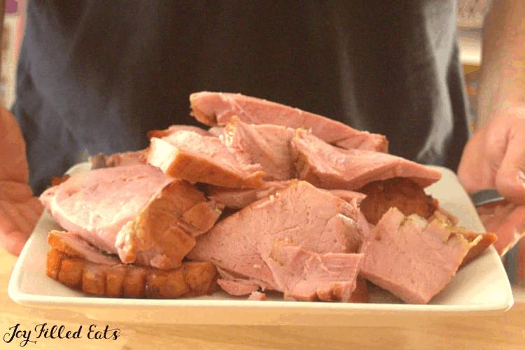 Maple Glazed Ham Recipe Easy Keto Low Carb Sugar Free