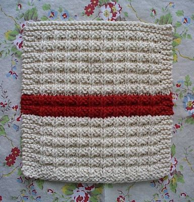12 Knit Dishcloth Patterns For Beginners Knitted Dishcloth