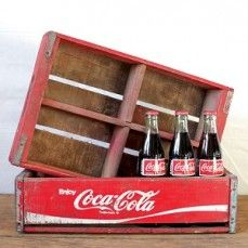 Vintage Coke Crate | Wooden Coke Crate