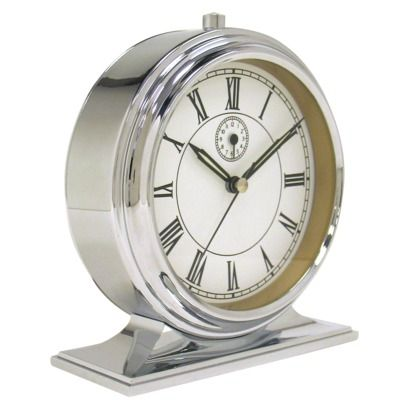 Threshold Shiny Retro Alarm Clock Classic And Affordable