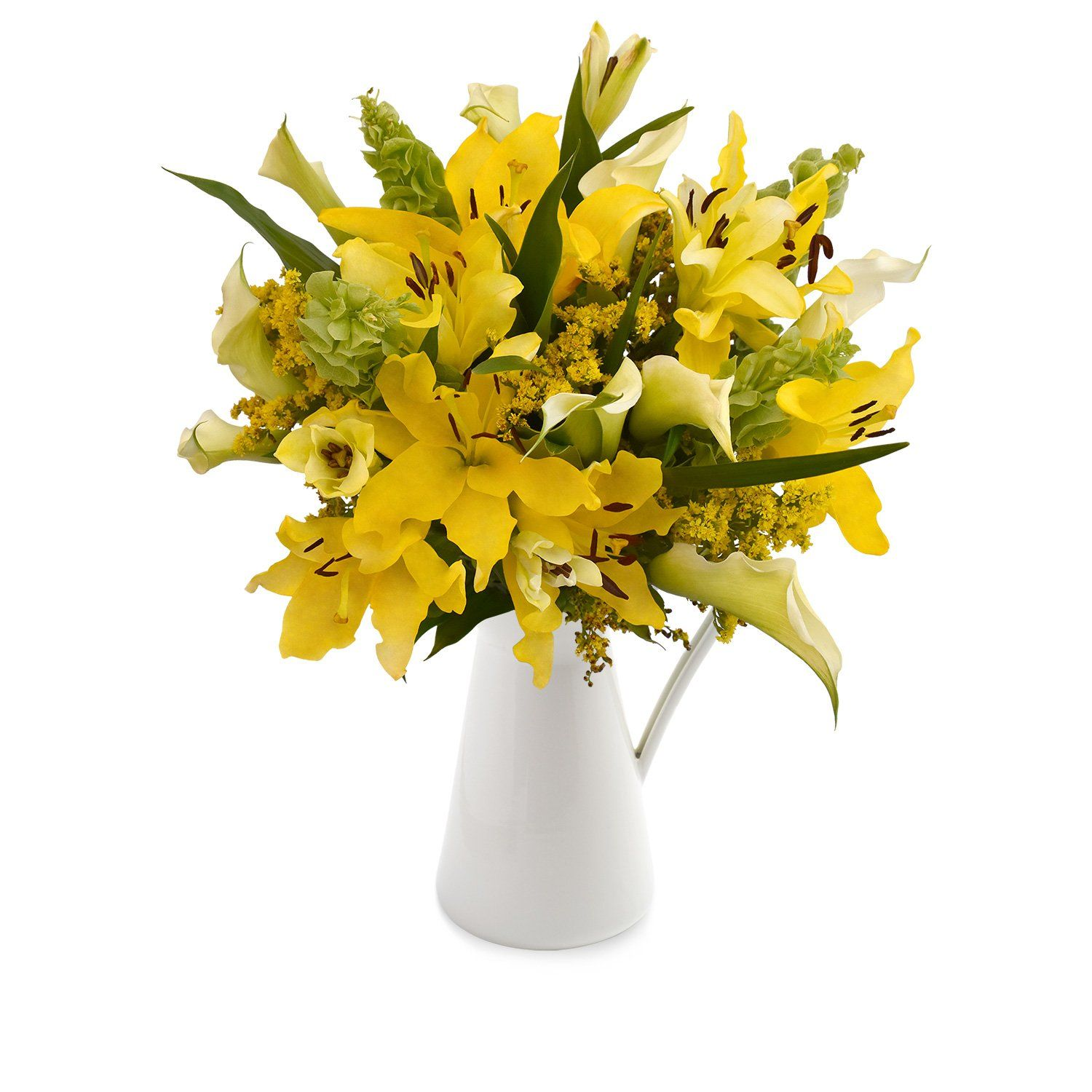 30 stems Mixed bouquet 50cm Sonoma Flair Yellow Pack 5
