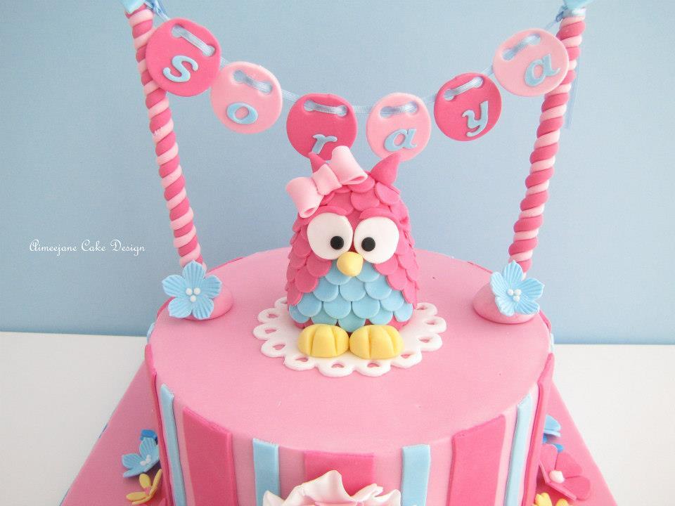 Adorable Owl Themed Birthday Cakes Birthday cakes Owl birthday