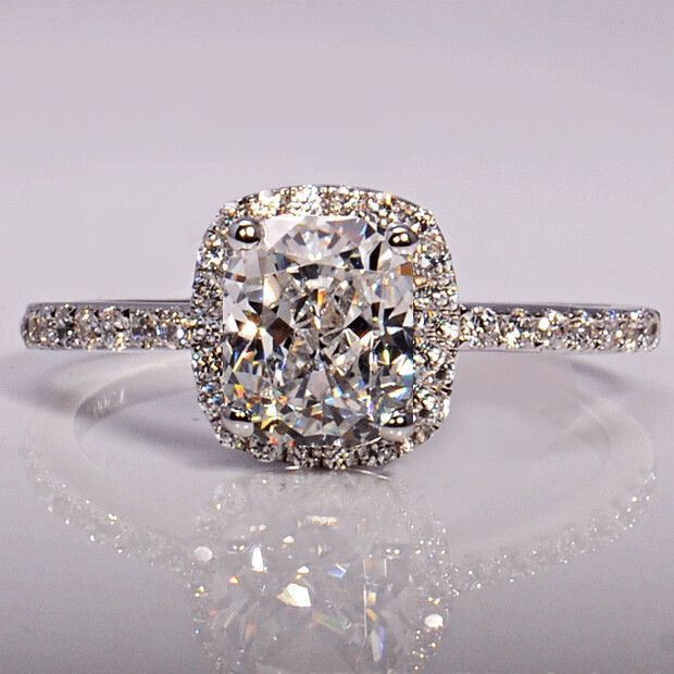 ladies simulated carats rings diamond ring