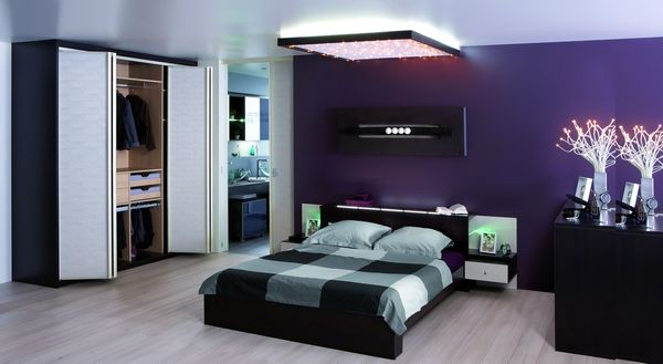 decoration interieur peinture chambre. Black Bedroom Furniture Sets. Home Design Ideas