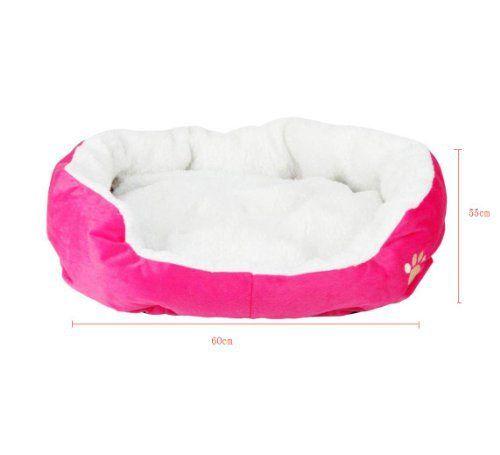 niceEshop Comfortable Pets Dog Cat Puppy Kitten Soft Fleece Bed Pet House Nest Pad Mat Hot Pink - http://www.thepuppy.org/niceeshop-comfortable-pets-dog-cat-puppy-kitten-soft-fleece-bed-pet-house-nest-pad-mat-hot-pink/