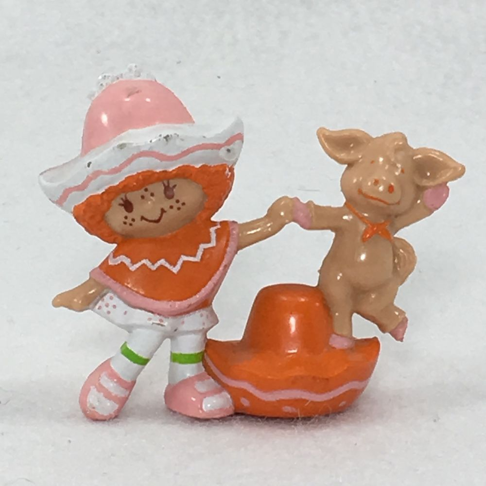 Vintage Rare 1984 Strawberry Shortcake Cafe Ole With Dancing Burrito PVC Mini #5  | eBay