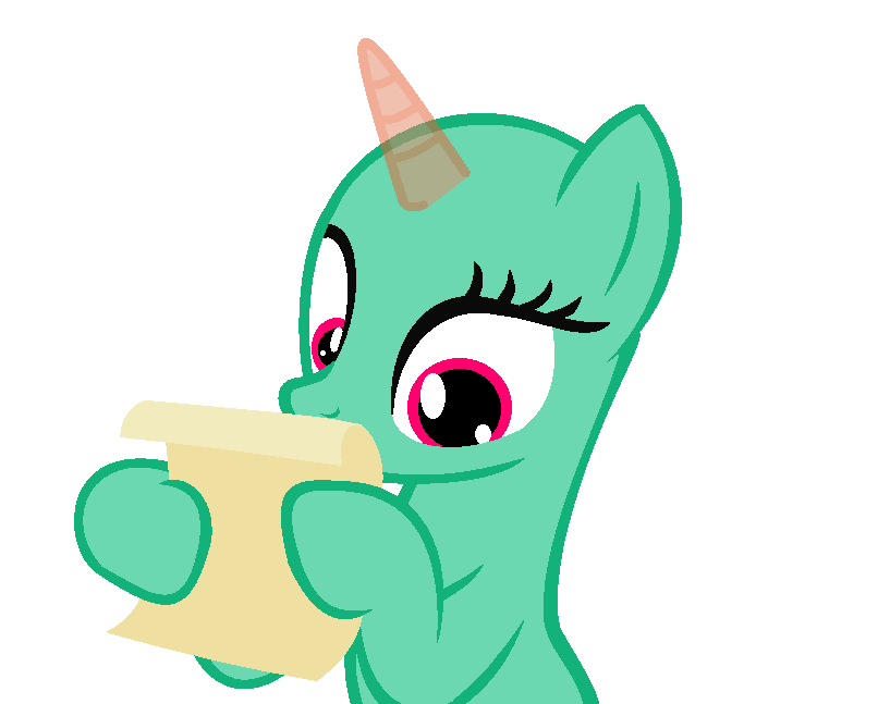 Mlp base you have recived a message by TwitterShy on DeviantArt