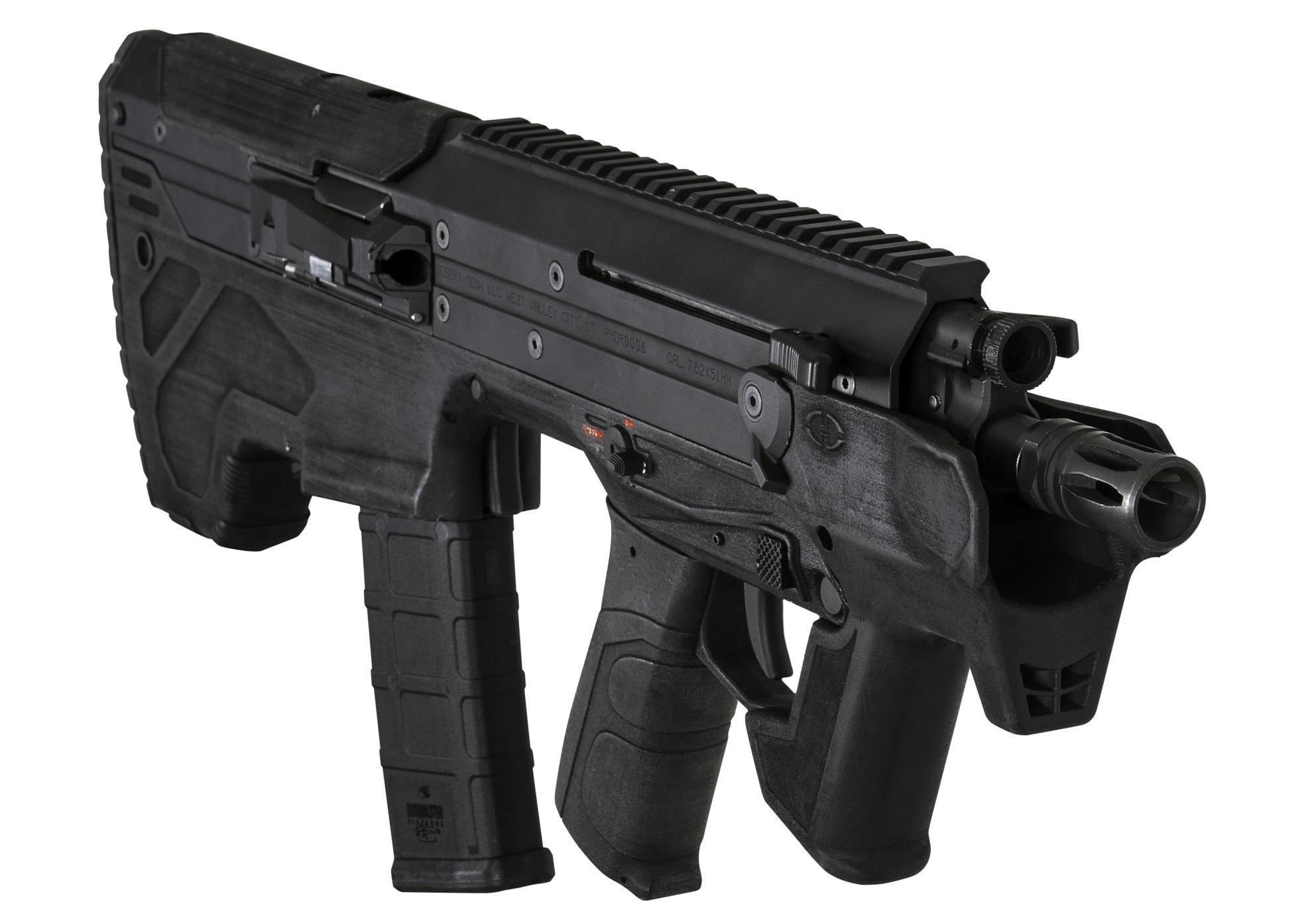 Desert Tech bullpup sniper rifle SRSA1 (Stealth Recon
