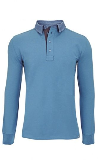 Men's Bamboo Rugby Shirt - Stellar : Bamboo Clothing - good colour and useful