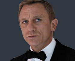 18adc770fb7d The four-in-hand tie gets its name from the method most typically used to  tie it  the four-in-hand knot. James Bond more often than not uses this  knot.