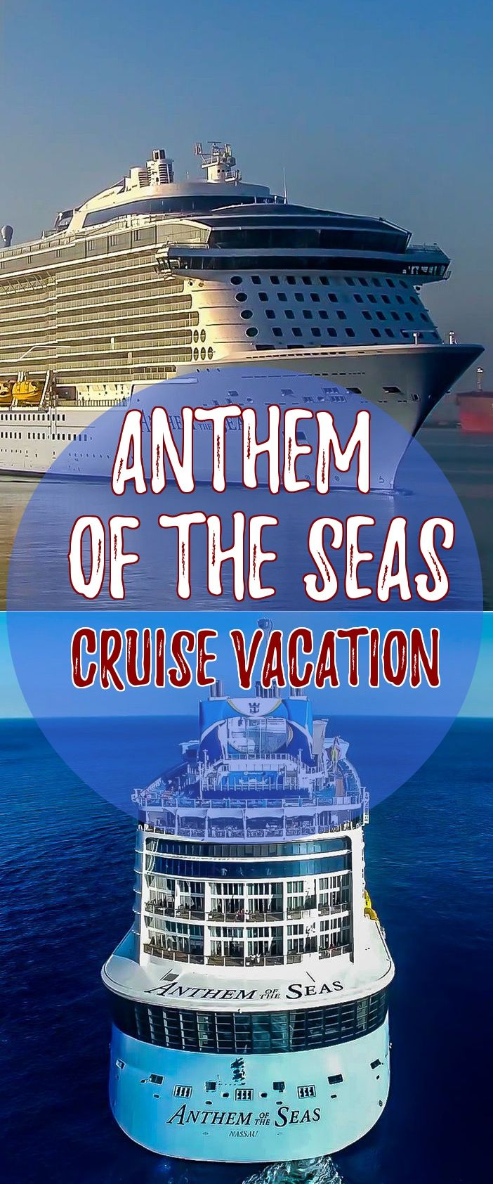 Royal Caribbean International Anthem Of The Seas Cruise Vacations - Anthem of the seas itinerary