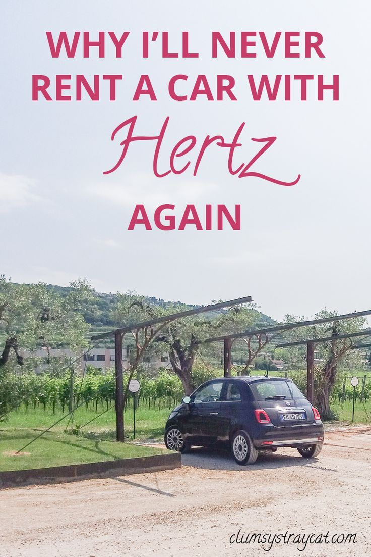 Why I'll never rent a car with Hertz again Car rental