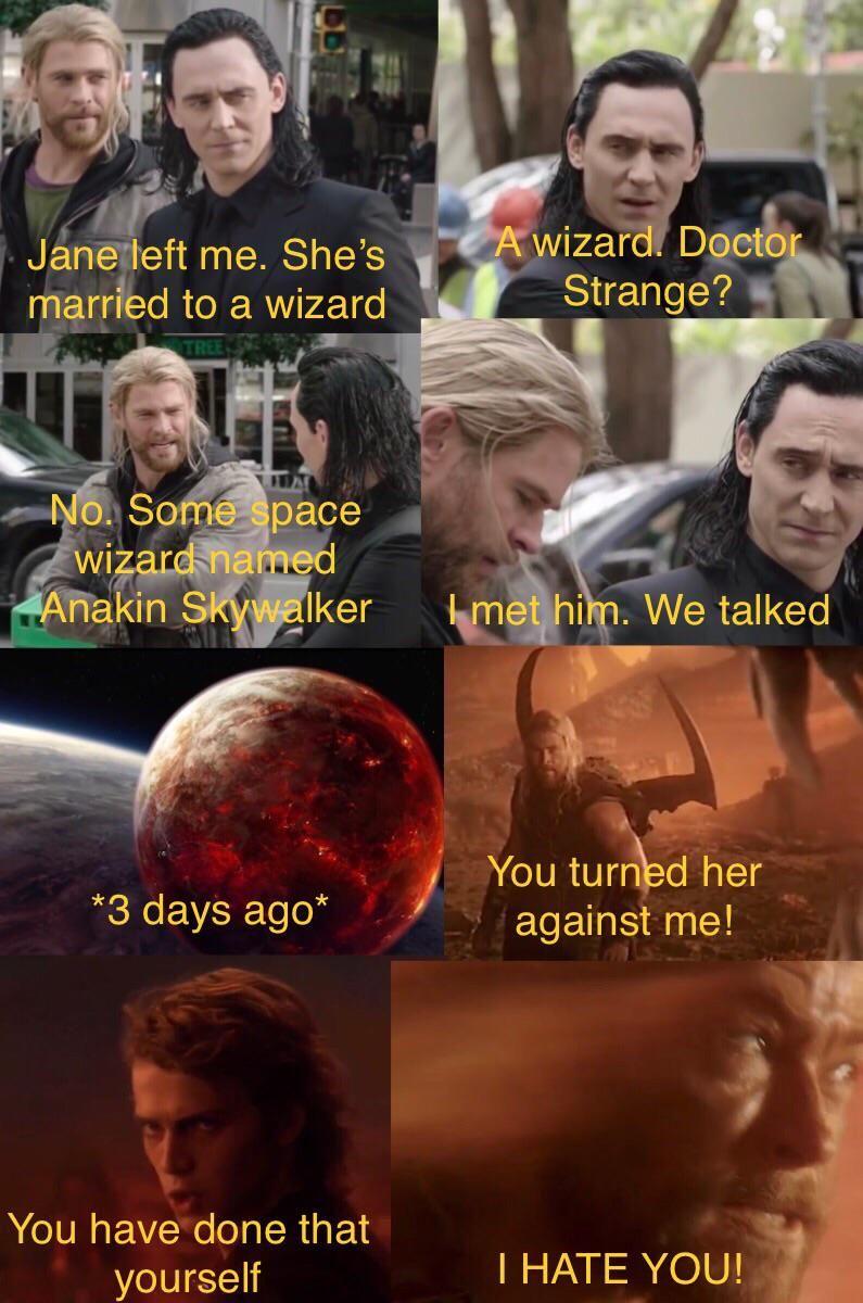 Pin By Jeffynator On Movie Memes Funny Star Wars Memes Star Wars Jokes Star Wars Humor