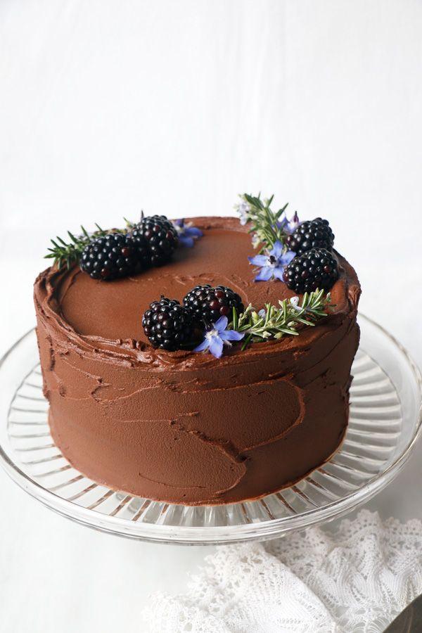 Chocolate Beet Layer Cake (vegan & gluten-free)