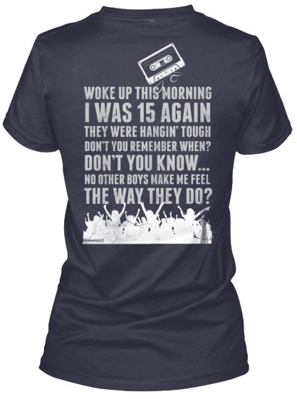 a0892b61 Limited Edition Still a Blockhead Shirts in 2019 | NKOTB | Concert ...