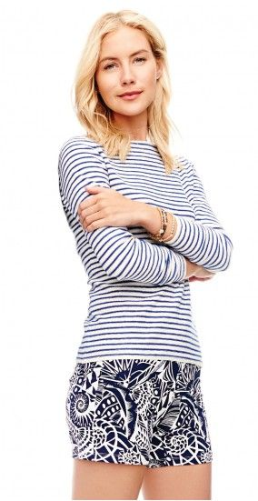 May Striped Boatneck Sweater by J.McLaughlin
