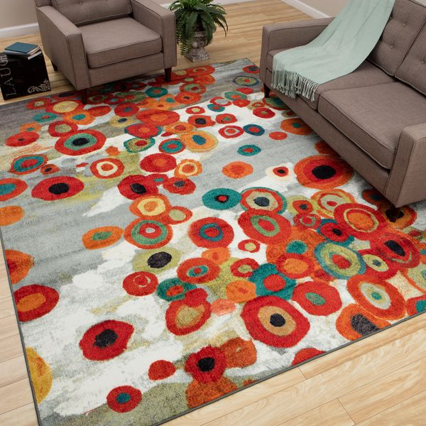 Overstock Com Tips Ideas: Mohawk Home Tossed Floral Multi Rug (8' X 10')