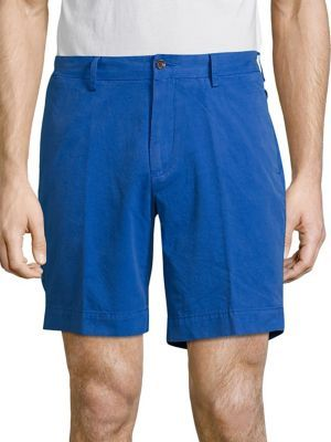 POLO RALPH LAUREN Straight-Fit Pima Chino Shorts. #poloralphlauren #cloth #shorts