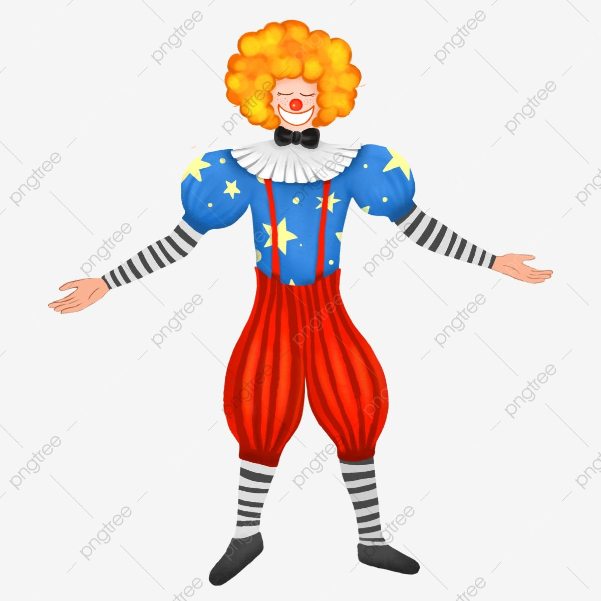 Hand Drawn Cartoon Clown Image Clown Clipart April Fool S Day Clown Png Transparent Clipart Image And Psd File For Free Download Clown Images How To Draw Hands Cartoon