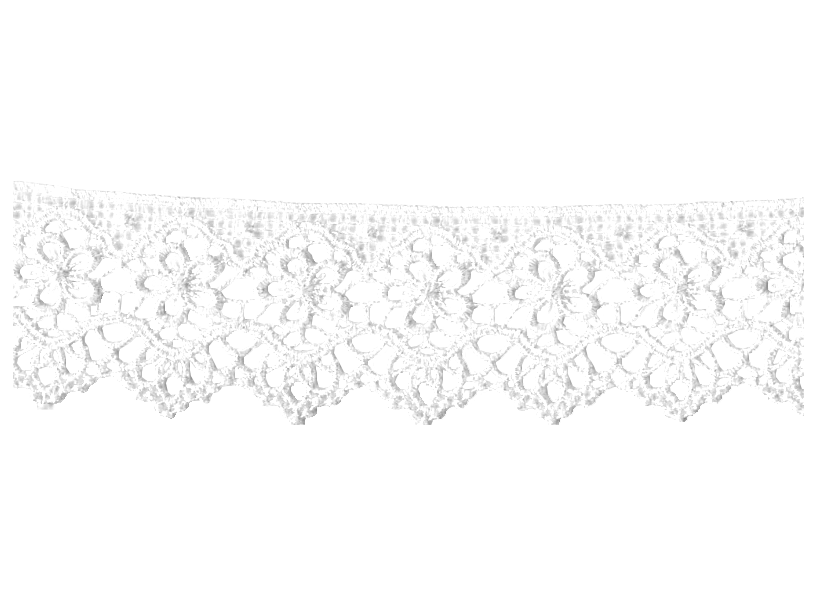 how to draw lace border
