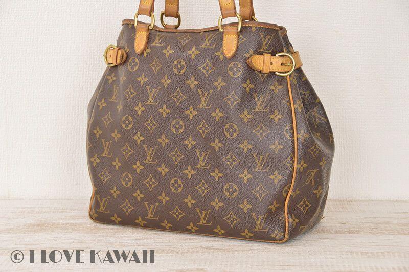 4ae0867a4 Louis Vuitton Monogram Batignolles Vertical Shoulder Tote Bag M51153 ...