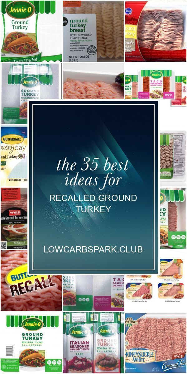 The 35 best ideas for Recalled Ground Turkey Turkey