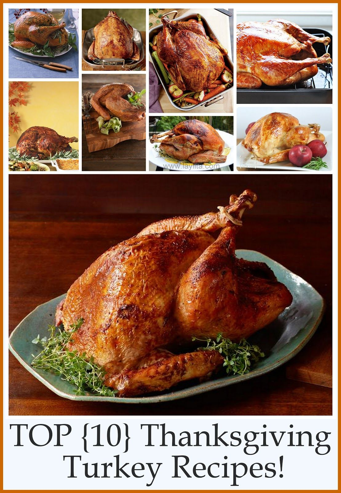 Photo of Top 10 Thanksgiving Turkey Recipes