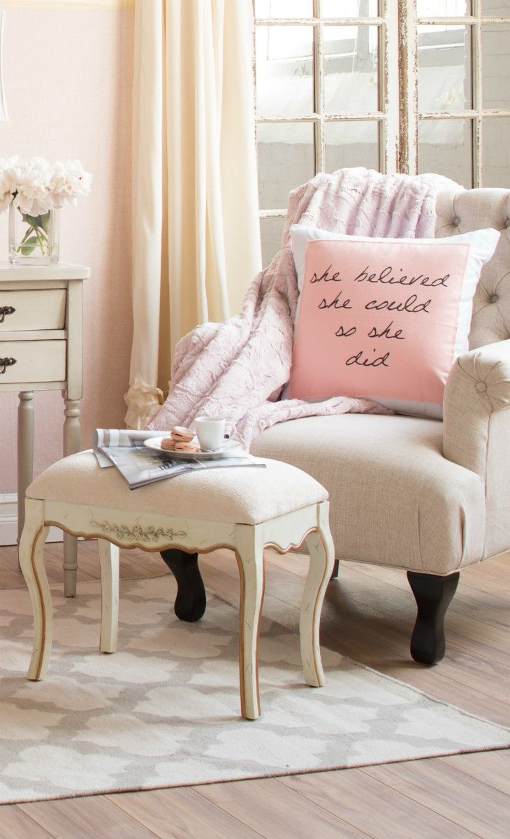 vintage shabby chic inspired office. Vintage Shabby Pink Chic Inspired Office