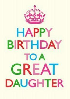 verjaardagskaart dochter Afbeeldingsresultaat voor teksten verjaardag dochter | Happy  verjaardagskaart dochter