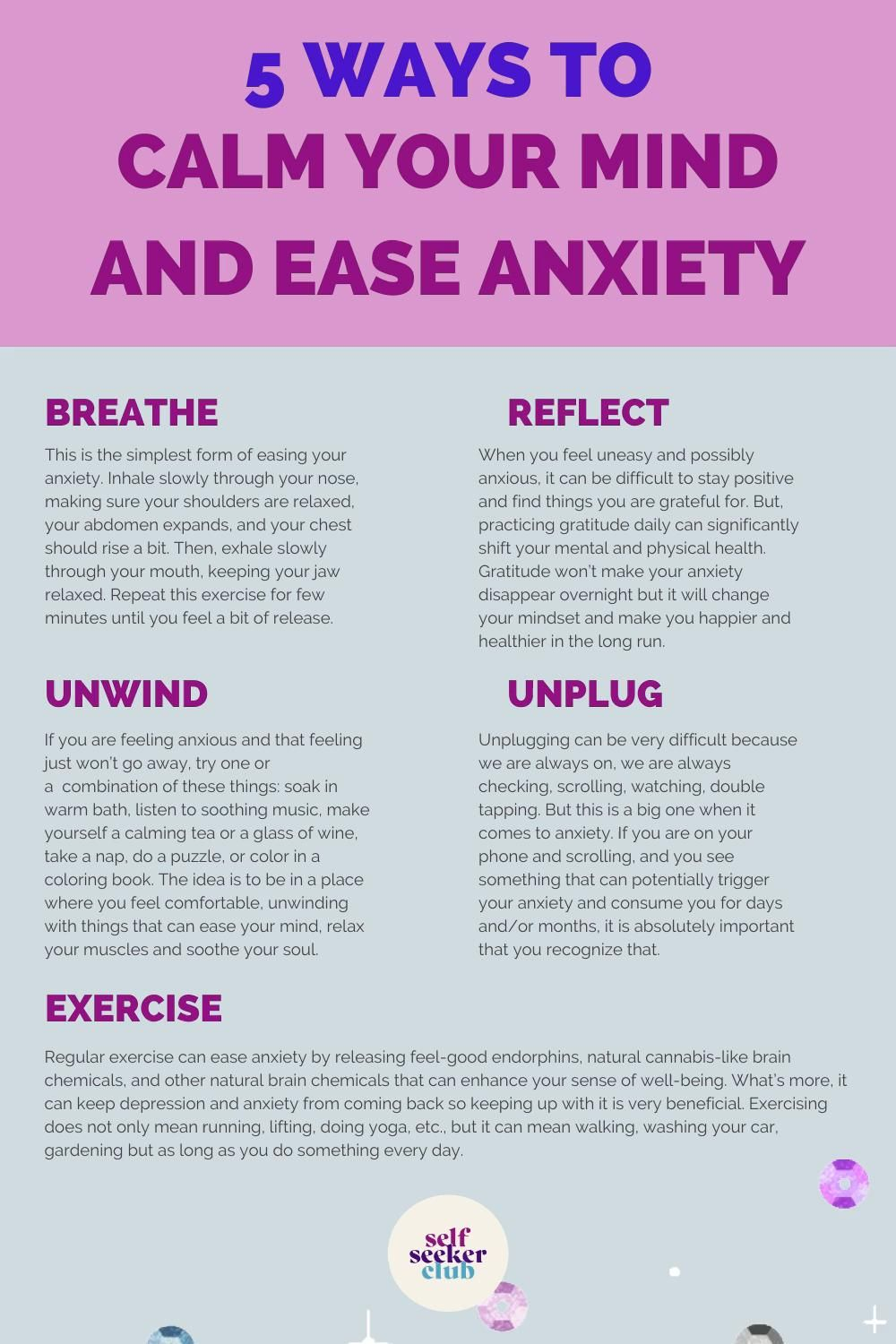 Photo of We've identified 5 ways that can help calm or quiet your anxiety from taking over
