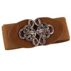 df9237fcb00d0 Fashion Knot Buckle Elastic Waist Belt For Women | Belts | Belt ...