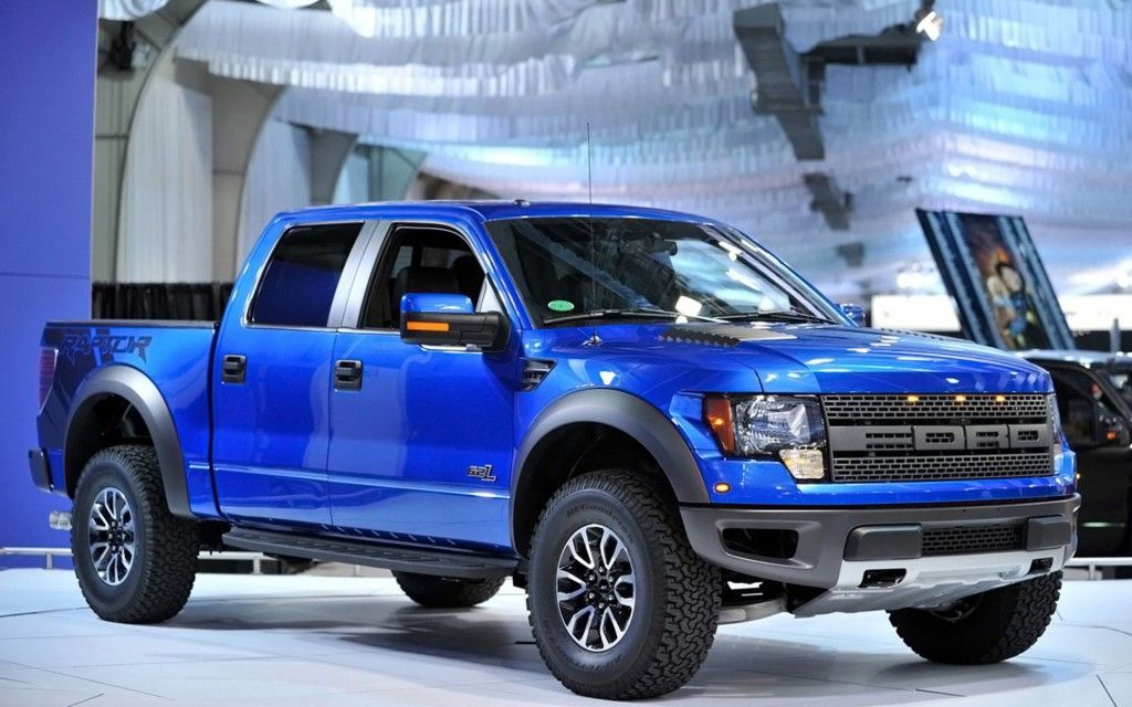 2014 ford f 150 svt raptor special edition blue