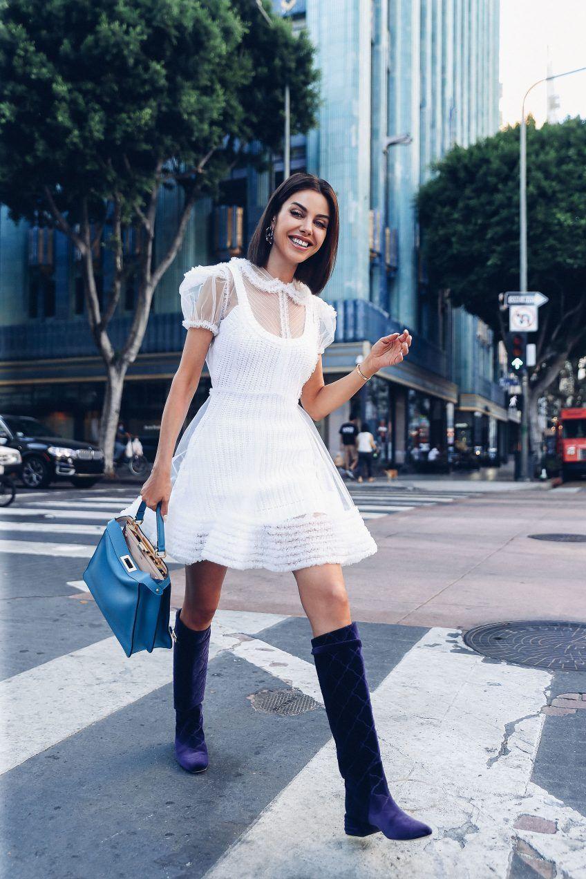 The New Fendi Peekaboo I See You Vivaluxury Fendi Peekaboo Fashion White Dress [ 1272 x 848 Pixel ]