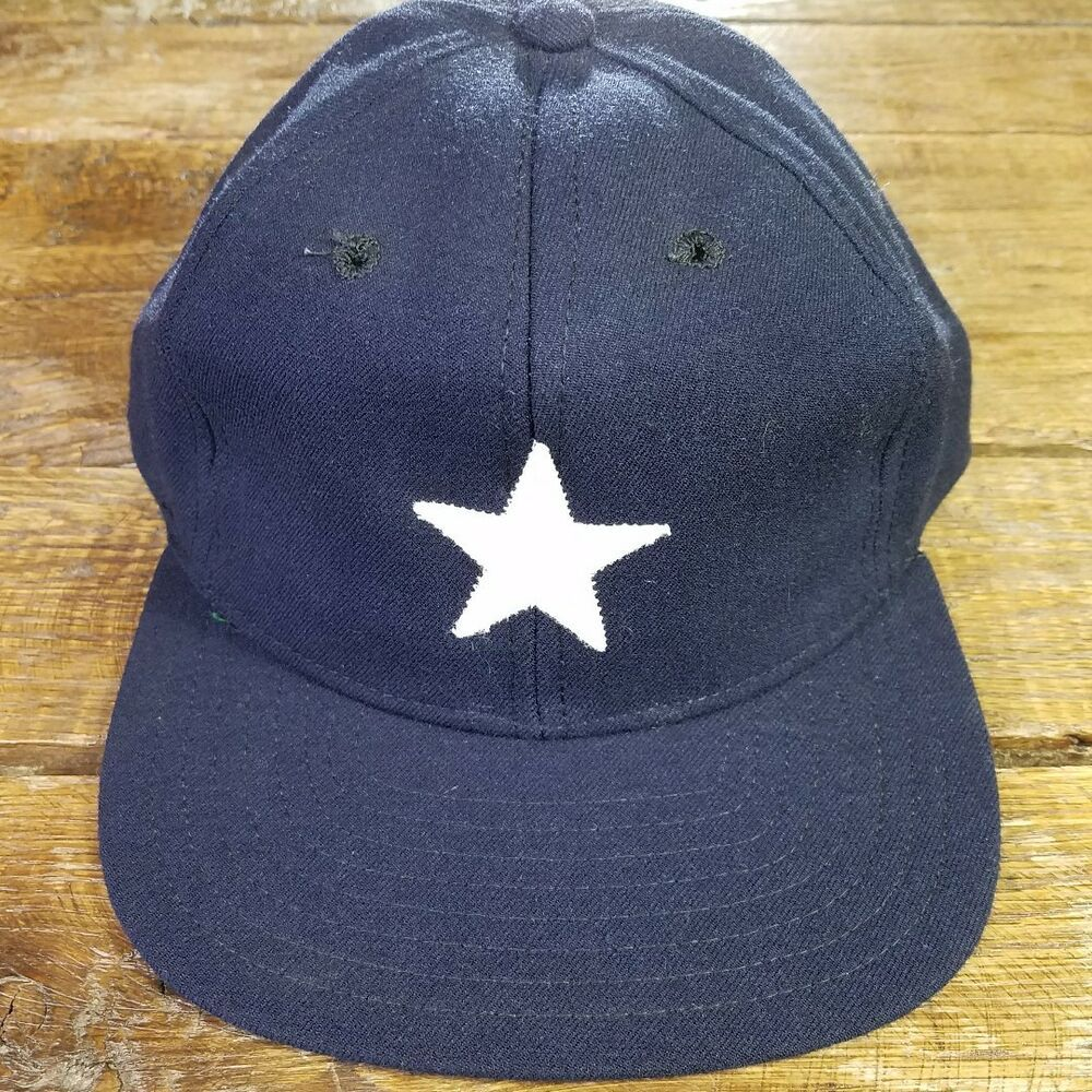0055cd24 NOS Vintage 1960's 1970's Dallas Cowboys New Era Fitted Baseball Cap ...